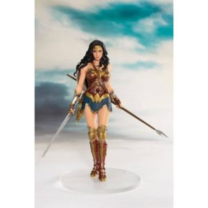 WONDER WOMAN STATUE ARTFX+ JUSTICE LEAGUE MOVIE KOTOBUKIYA 19 CM (1) 4934054903634 kingdom-figurine.fr