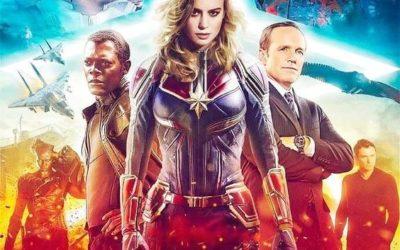 Captain Marvel débarque au cinéma