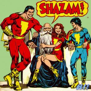 Shazam : le super-héros et le vieux sorcier