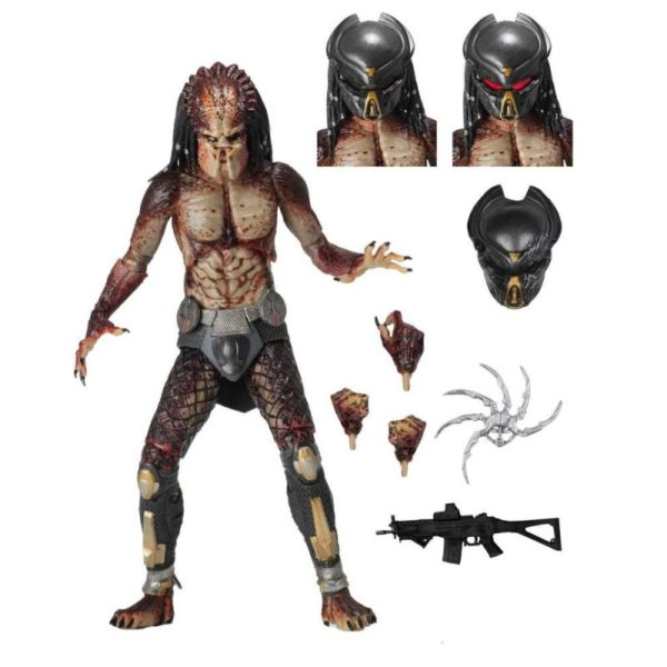 FUGITIVE PREDATOR LAB ESCAPE FIGURINE ULTIMATE PREDATOR 2018 NECA 20 CM (1) 634482515815 kingdom-figurine.fr