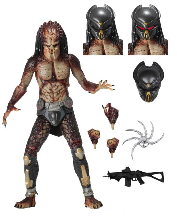 FUGITIVE PREDATOR LAB ESCAPE FIGURINE ULTIMATE PREDATOR 2018 NECA 20 CM (1bis) 634482515815 kingdom-figurine.fr