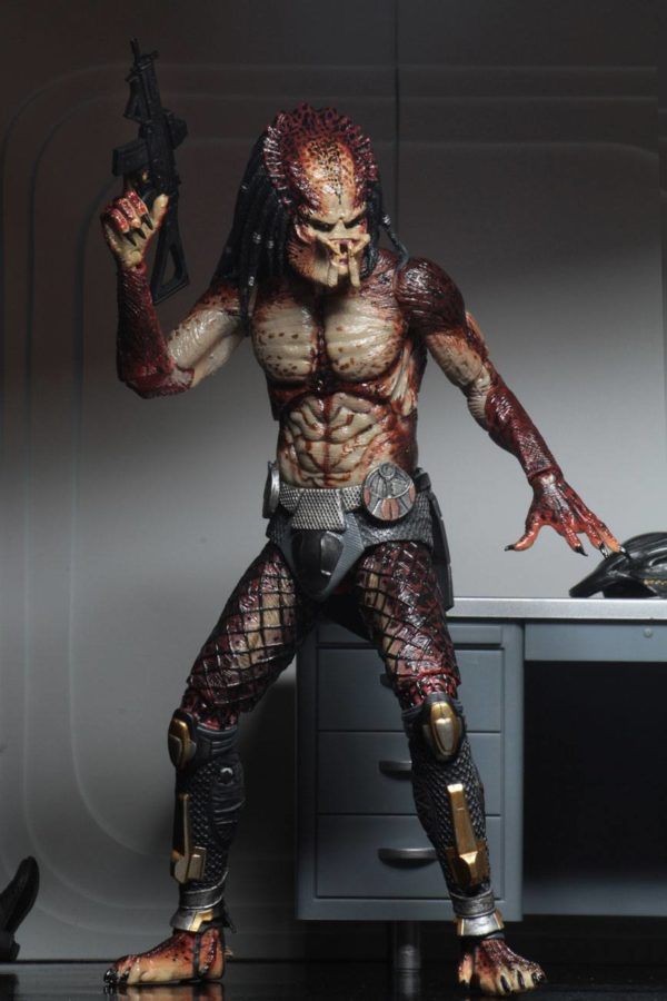 FUGITIVE PREDATOR LAB ESCAPE FIGURINE ULTIMATE PREDATOR 2018 NECA 20 CM (3) 634482515815 kingdom-figurine.fr