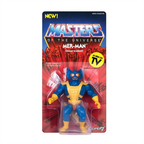 MER-MAN FIGURINE MASTERS OF THE UNIVERSE VINTAGE COLLECTION SUPER7 14 CM (2) 00811169033118 kingdom-figurine.fr