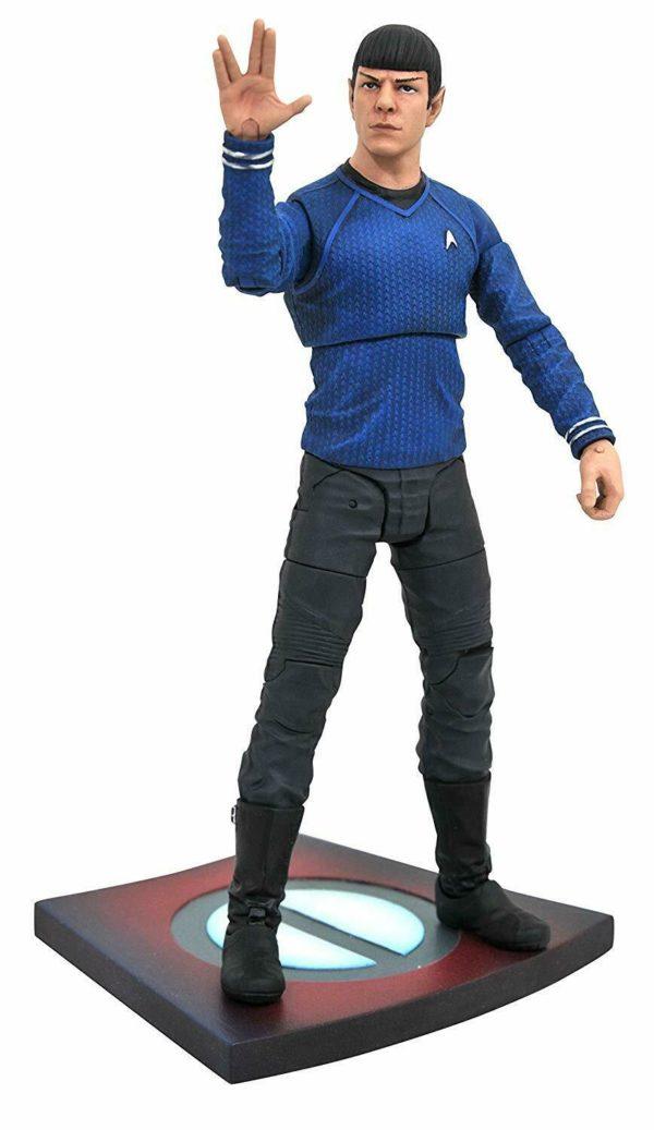 Mr. SPOCK FIGURINE STAR TREK INTO DARKNESS DIAMOND SELECT TOYS 18 CM (1bis) 699788831052 kingdom-figurine.fr