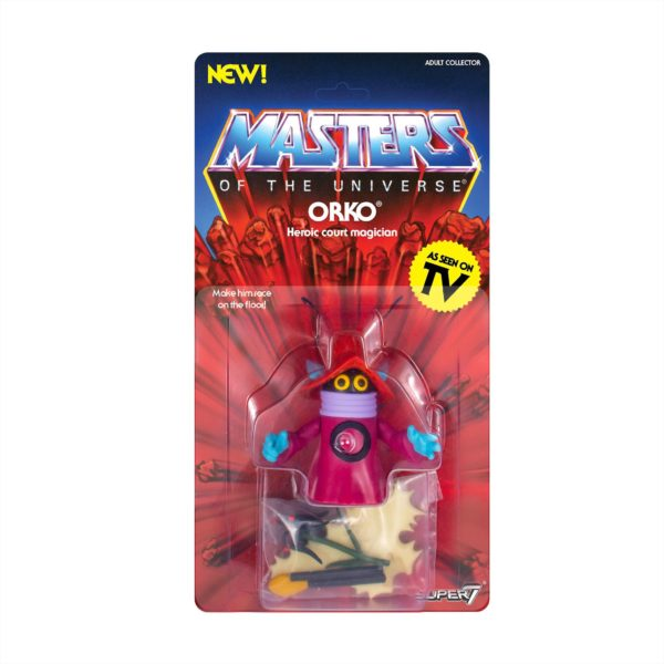 ORKO FIGURINE MASTERS OF THE UNIVERSE VINTAGE COLLECTION SUPER7 14 CM 00811169033125 kingdom-figurine.fr