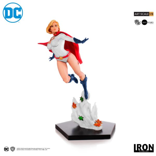 POWER GIRL BY IVAN REIS STATUE 1-10 DC COMICS BDS ART SCALE IRON STUDIOS 25 CM (1bis) 606529302900 kingdom-figurine.fr