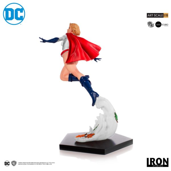 POWER GIRL BY IVAN REIS STATUE 1-10 DC COMICS BDS ART SCALE IRON STUDIOS 25 CM (3) 606529302900 kingdom-figurine.fr