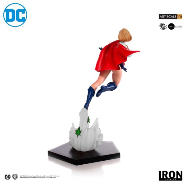 POWER GIRL BY IVAN REIS STATUE 1-10 DC COMICS BDS ART SCALE IRON STUDIOS 25 CM (4) 606529302900 kingdom-figurine.fr