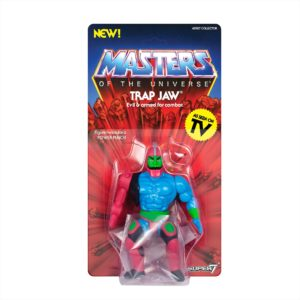 TRAP JAW FIGURINE MASTERS OF THE UNIVERSE VINTAGE COLLECTION SUPER7 14 CM 00811169033101 kingdom-figurine.fr