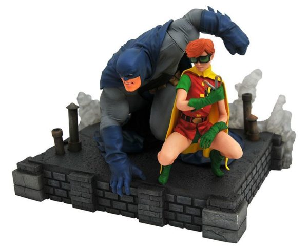 BATMAN & ROBIN STATUE THE DARK NIGHT RETURN DC COMICS GALLERY DIAMOND SELECT TOYS 20 CM (2) 699788833520 kingdom-figurine.fr