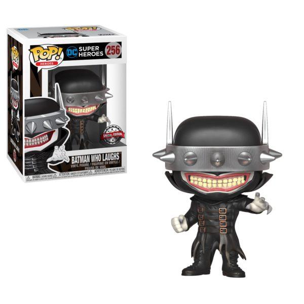 BATMAN WHO LAUGHS FIGURINE POP DC COMICS 256 SPECIAL EDITION FUNKO (1) 889698346986 kingdom-figurine.fr