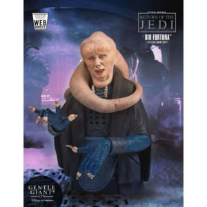 BIB FORTUNA BUSTE 1-6 STAR WARS EPISODE VI GENTLE GIANT 18 CM (1) 814176022755 kingdom-figurine.fr