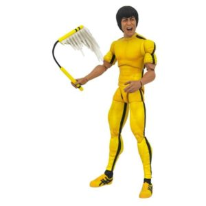 BRUCE LEE YELLOW JUMPSUIT FIGURINE SELECT DIAMOND SELECT TOYS 18 CM (1) 699788833513 kingdom-figurine.fr