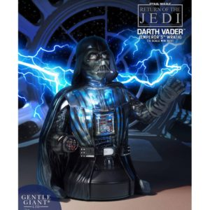 DARTH VADER EMPEROR'S WRATH BUSTE 1-6 STAR WARS EPISODE VI GENTLE GIANT 17 CM (0) 814176022151 kingdom-figurine.fr