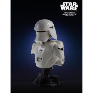 FIRST ORDER SNOWTROOPER PGM EXCLUSIVE BUSTE 1-6 STAR WARS EPISODE VII GENTLE GIANT 13 CM (1) 814176021963 kingdom-figurine.fr