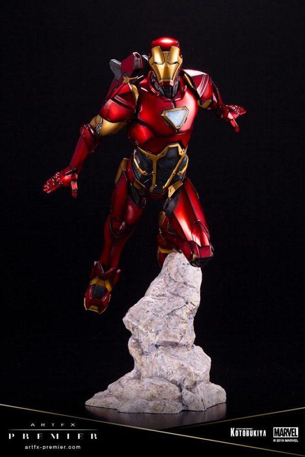 IRON MAN STATUETTE ARTFX PREMIER 1-10 MARVEL UNIVERSE KOTOBUKIYA 25 CM (4) 4934054009435 kingdom-figurine.fr