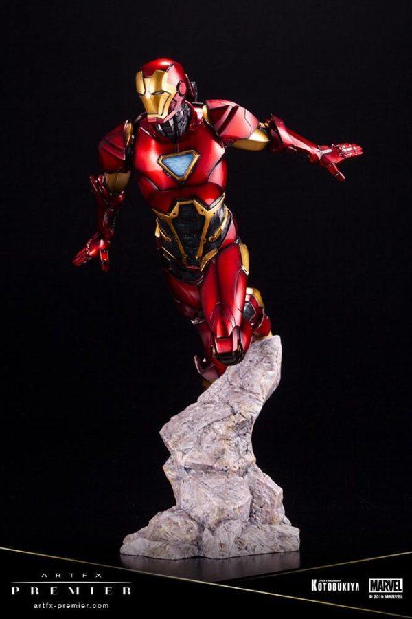 IRON MAN STATUETTE ARTFX PREMIER 1-10 MARVEL UNIVERSE KOTOBUKIYA 25 CM (5) 4934054009435 kingdom-figurine.fr