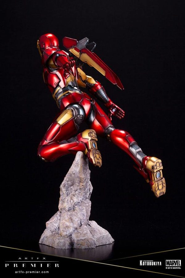 IRON MAN STATUETTE ARTFX PREMIER 1-10 MARVEL UNIVERSE KOTOBUKIYA 25 CM (7) 4934054009435 kingdom-figurine.fr