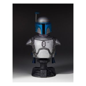 JANGO FETT BUSTE 1-6 STAR WARS GENTLE GIANT 19 CM (1) 814176022045 kingdom-figurine.fr