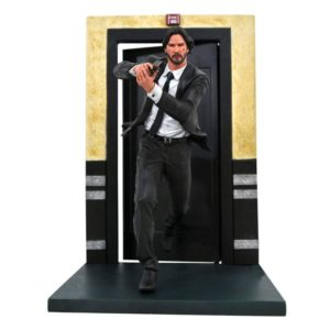 JOHN WICK STATUETTE JOHN WICK GALLERY CHAPTER 1 DIAMOND SELECT TOYS 23 CM (1) 699788830352 kingdom-figurine.fr