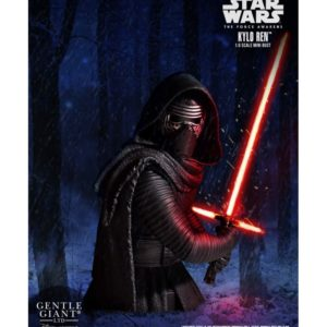 KYLO REN BUSTE 1-6 STAR WARS EPISODE VII GENTLE GIANT 22 CM (1) 814176021239 kingdom-figurine.fr