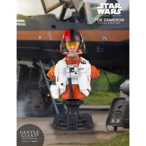 POE DAMERON PGM EXCLUSIVE BUSTE 1-6 STAR WARS EPISODE VII GENTLE GIANT 16 CM (0) 814176021659 kingdom-figurine.fr