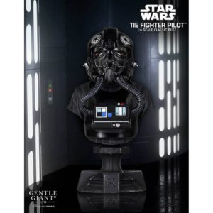 TIE FIGHTER PGM EXCLUSIVE BUSTE 1-6 STAR WARS GENTLE GIANT 13 CM (0) 814176021161 kingdom-figurine.fr
