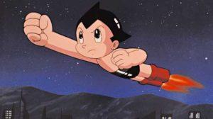 Astro Boy peut voler