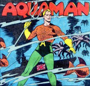 Aquaman version comics