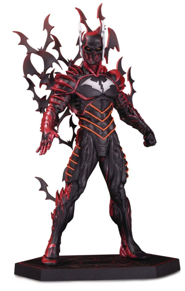 BATMAN THE RED DEATH STATUETTE DARK NIGHTS METAL DC COLLECTIBLES 21 CM (1bis) 761941359663 kingdom-figurine.fr