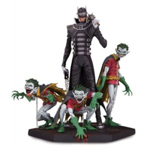 BATMAN WHO LAUGHS & ROBIN MINIONS STATUETTE DARK NIGHTS METAL DC COLLECTIBLES 21 CM (1) 761941358895 kingdom-figurine.fr