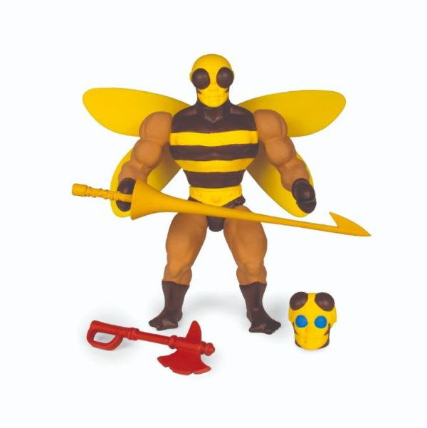 BUZZ OFF FIGURINE MASTERS OF THE UNIVERSE VINTAGE COLLECTION SERIES 4 SUPER7 14 CM (1bis) 811169038311 kingdom-figurine.fr