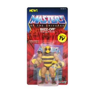 BUZZ OFF FIGURINE MASTERS OF THE UNIVERSE VINTAGE COLLECTION SERIES 4 SUPER7 14 CM (2) 811169038311 kingdom-figurine.fr