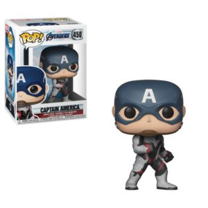 CAPTAIN AMERICA FIGURINE AVENGERS ENDGAME POP 450 FUNKO 889698366618 kingdom-figurine.fr
