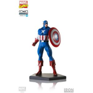 CAPTAIN AMERICA STATUETTE 1-10 MARVEL COMICS IRON STUDIOS 20 CM (1) 751320300324 kingdom-figurine.fr