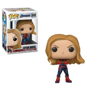 CAPTAIN MARVEL FIGURINE AVENGERS ENDGAME POP 459 FUNKO 889698366755 kingdom-figurine.fr