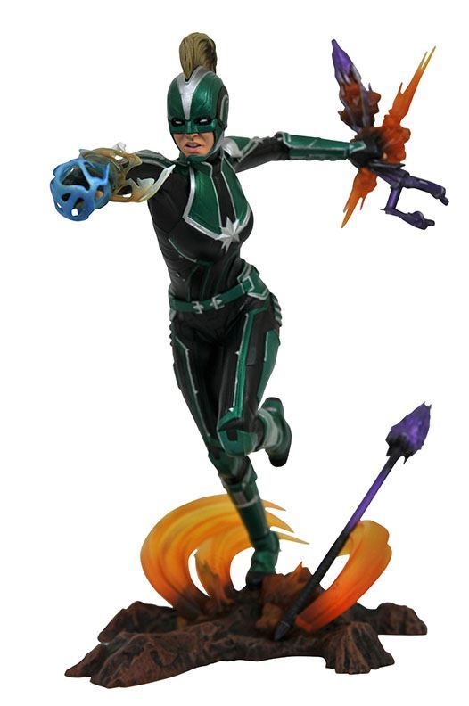 CAPTAIN MARVEL STARFORCE STATUETTE MARVEL MOVIE GALLERY DIAMOND SELECT TOYS 23 CM (1bis) 699788834527 kingdom-figurine.fr