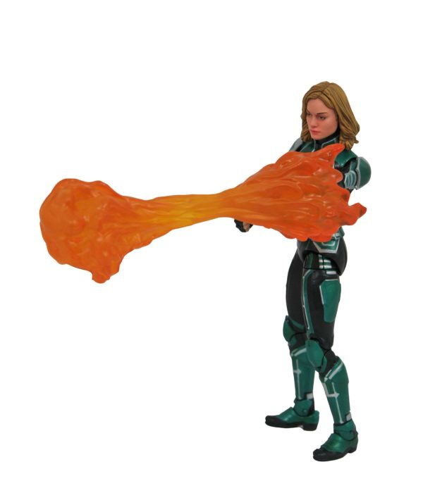 CAPTAIN MARVEL STARFORCE UNIFORM FIGURINE MARVEL SELECT DIAMOND SELECT TOYS 18 CM (3) 699788833636 kingdom-figurine.fr