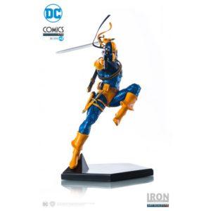 DEATHSTROKE BY IVAN REIS STATUETTE 1-10 DC COMICS IRON STUDIOS 23 CM (1) 742832353434 kingdom-figurine.fr