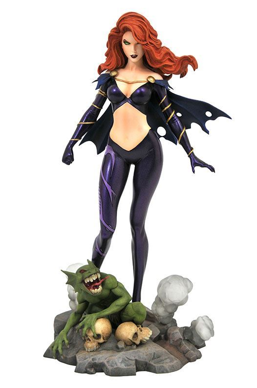 GOBLIN QUEEN STATUETTE MARVEL COMIC GALLERY DIAMOND SELECT TOYS 23 CM (1bis) 699788831007 kingdom-figurine.fr