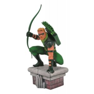 GREEN ARROW STATUETTE DC COMICS GALLERY DIAMOND SELECT TOYS 20 CM (1) 699788828915 kingdom-figurine.fr