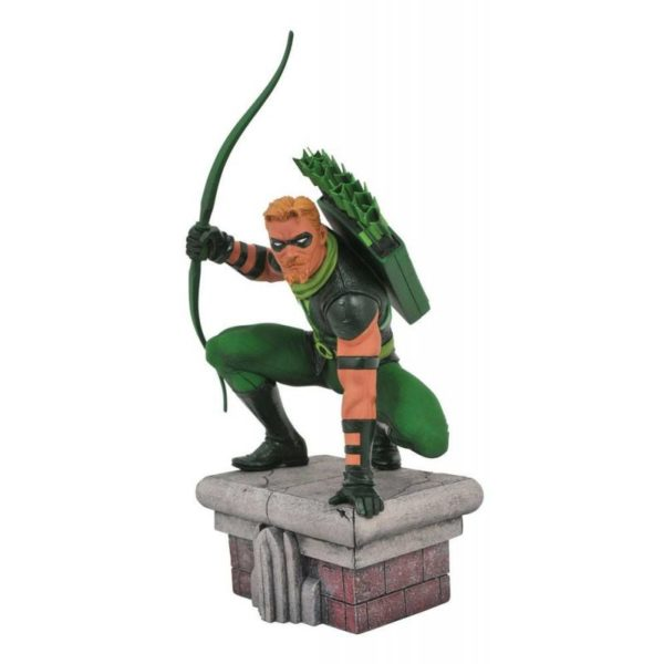 GREEN ARROW STATUETTE DC COMICS GALLERY DIAMOND SELECT TOYS 20 CM (1) 699788828915 kingdom-figurine.fr