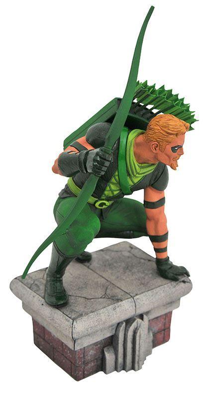 GREEN ARROW STATUETTE DC COMICS GALLERY DIAMOND SELECT TOYS 20 CM (2) 699788828915 kingdom-figurine.fr