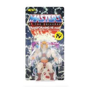 HE-MAN GLOW IN THE DARK FIGURINE MASTERS OF THE UNIVERSE VINTAGE COLLECTION SERIES 4 SUPER7 14 CM (2) 811169038281 kingdom-figurine.fr