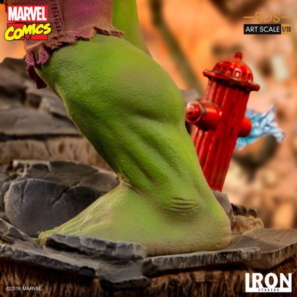 HULK STATUETTE 1-10 MARVEL COMICS BDS ART SCALE IRON STUDIOS 29 CM (10) 606529302917 kingdom-figurine.fr