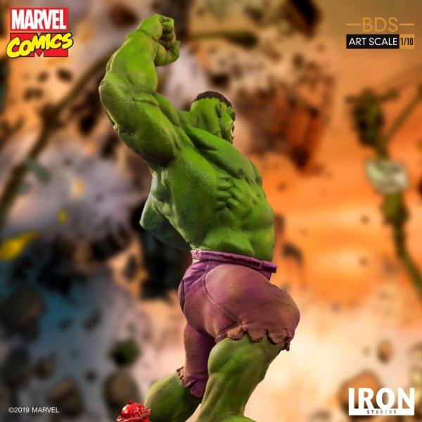 HULK STATUETTE 1-10 MARVEL COMICS BDS ART SCALE IRON STUDIOS 29 CM (11) 606529302917 kingdom-figurine.fr