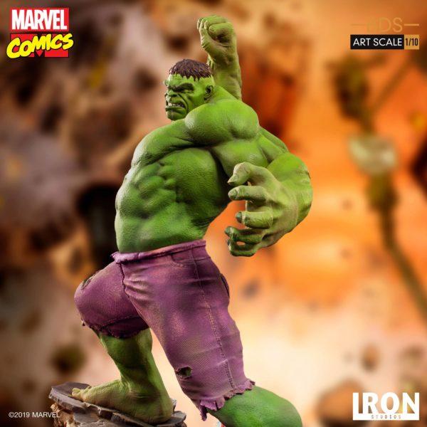 HULK STATUETTE 1-10 MARVEL COMICS BDS ART SCALE IRON STUDIOS 29 CM (12) 606529302917 kingdom-figurine.fr