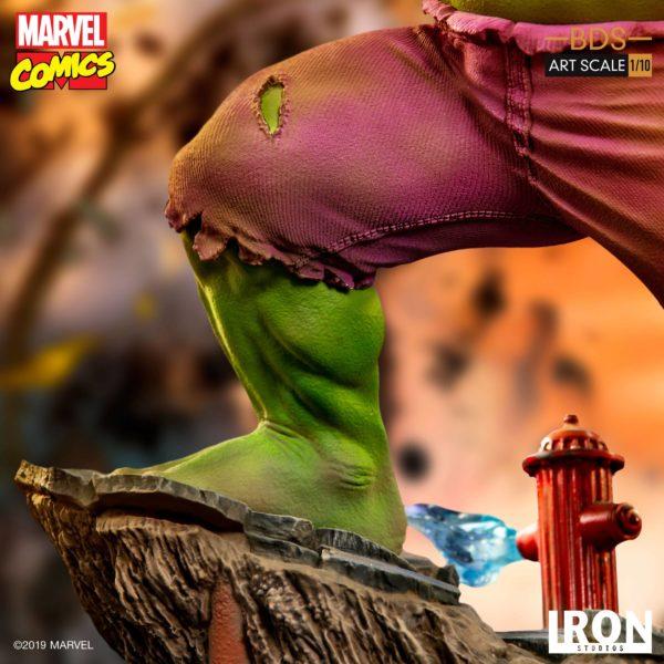 HULK STATUETTE 1-10 MARVEL COMICS BDS ART SCALE IRON STUDIOS 29 CM (13) 606529302917 kingdom-figurine.fr