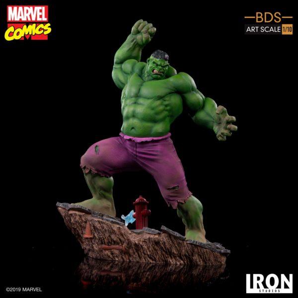 HULK STATUETTE 1-10 MARVEL COMICS BDS ART SCALE IRON STUDIOS 29 CM (5) 606529302917 kingdom-figurine.fr