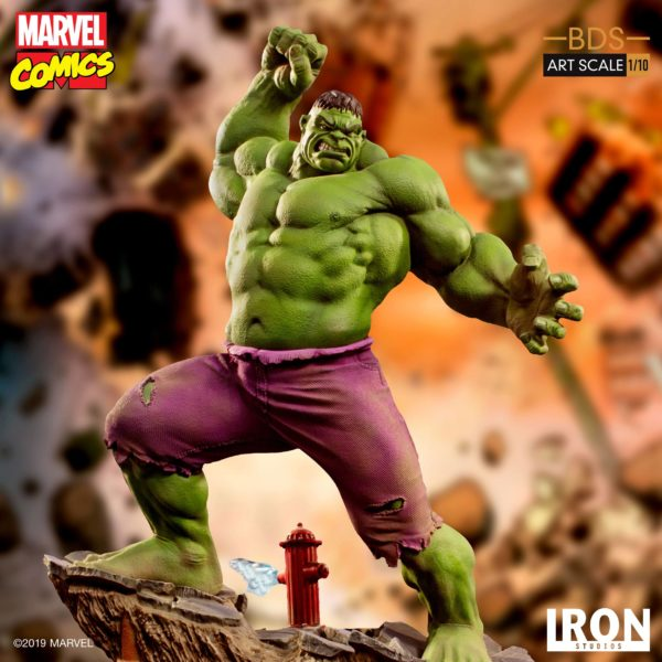 HULK STATUETTE 1-10 MARVEL COMICS BDS ART SCALE IRON STUDIOS 29 CM (6) 606529302917 kingdom-figurine.fr